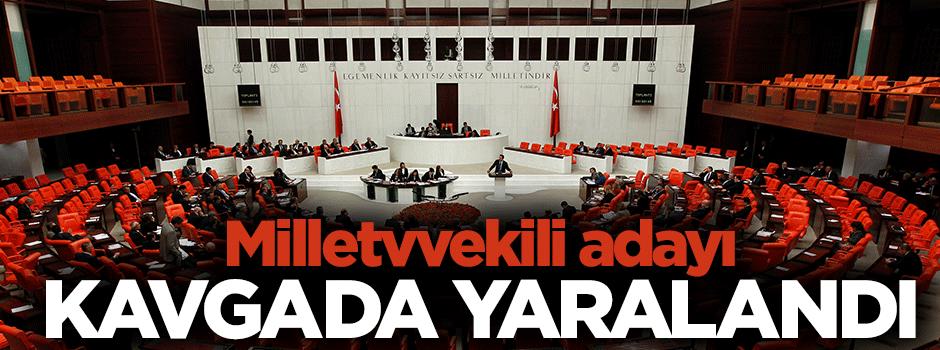 Milletvekili adayını yaraladılar