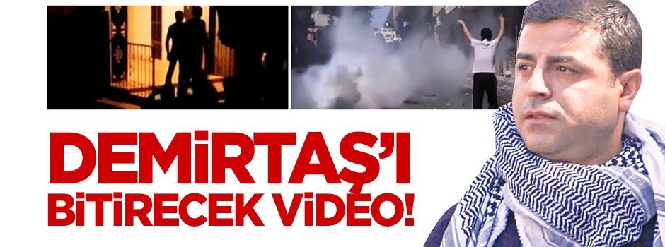 Eli kanlı Demirtaş'ın HDP'sini bitirecek video