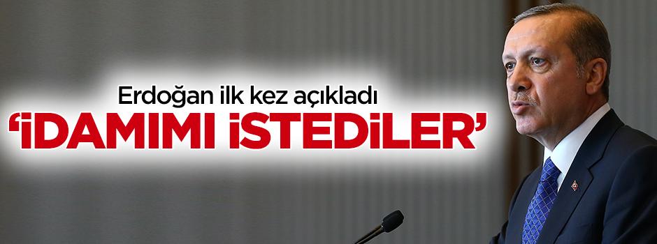 Erdoğan: 28 Şubat'ta idamımı istediler