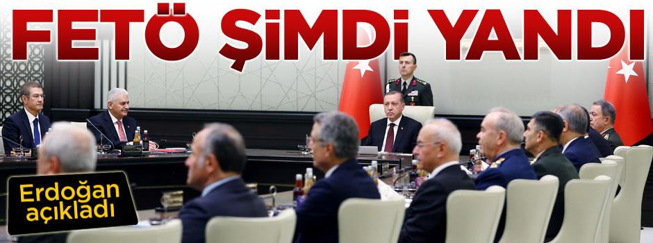 Erdoğan açıkladı, FETÖ şimdi yandı!