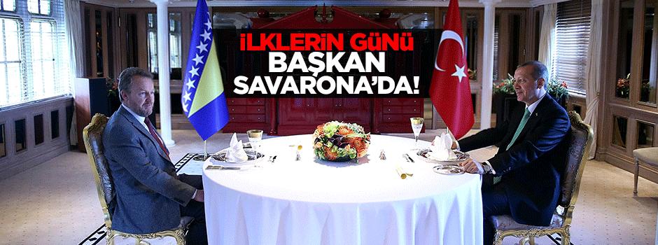 Erdoğan Savarona'da