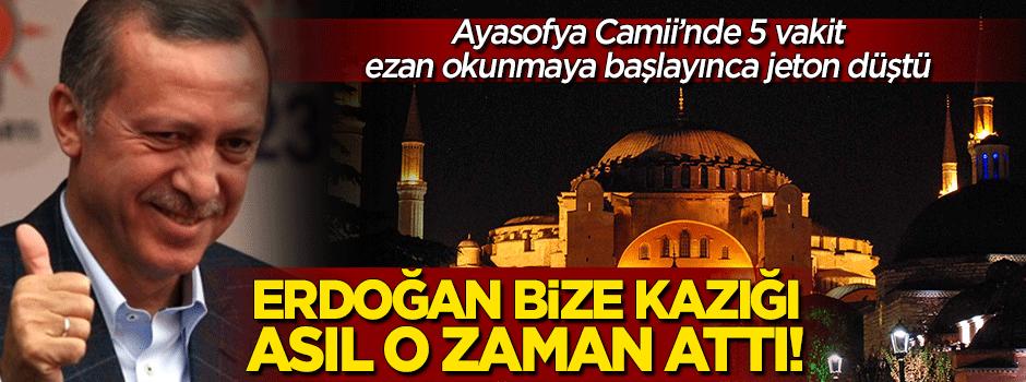Erdoğan bize kazığı asıl o zaman attı!