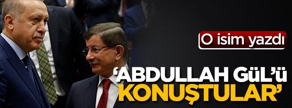 'Erdoğan, Davutoğlu ile Abdullah Gül'ü konuştu'