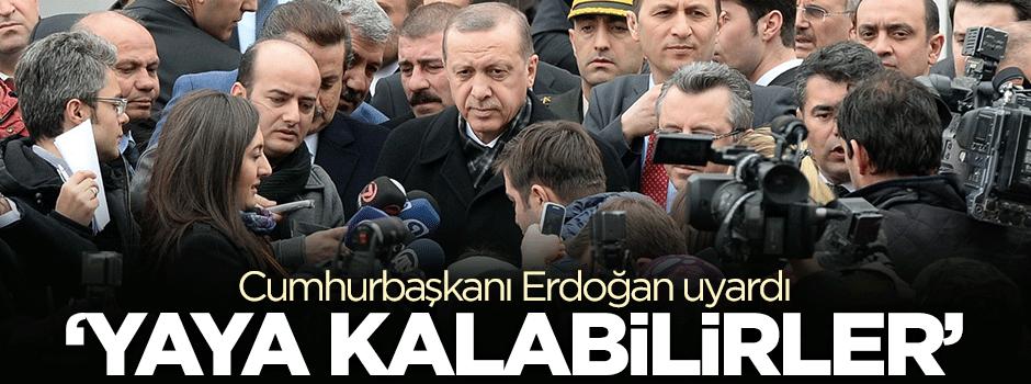 Erdoğan dolara karşı uyardı!