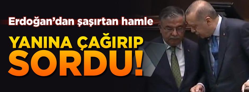 Erdoğan: MEB bakanı İsmet Yılmaz'ı Kürsüye çağırıp sordu
