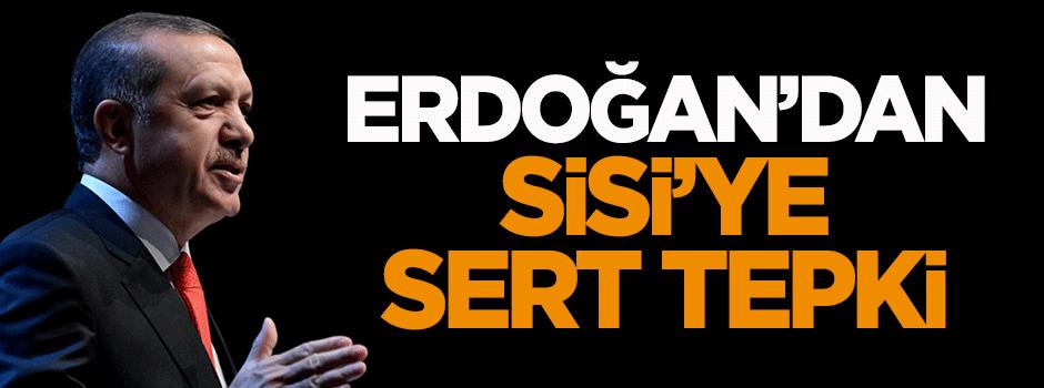 Erdoğan'dan Sisi'ye sert tepki - VIDEO