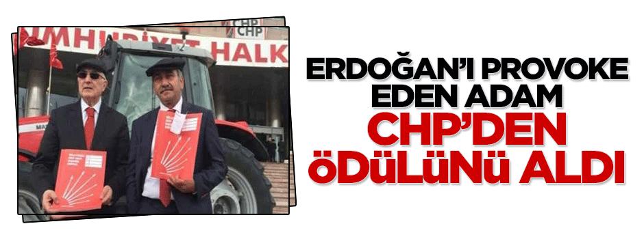 Erdoğan'ı provoke eden adam CHP'den aday adayı oldu