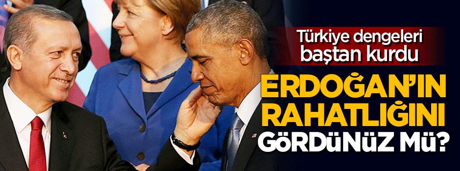 Erdoğan'ın BM'deki rahatlığını gördünüz mü?