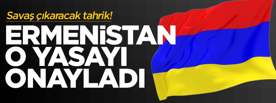Ermenistan'dan bağımsızlık yasa tasarısına onay