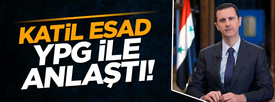 Esad ile terör örgütü YPG anlaştı!