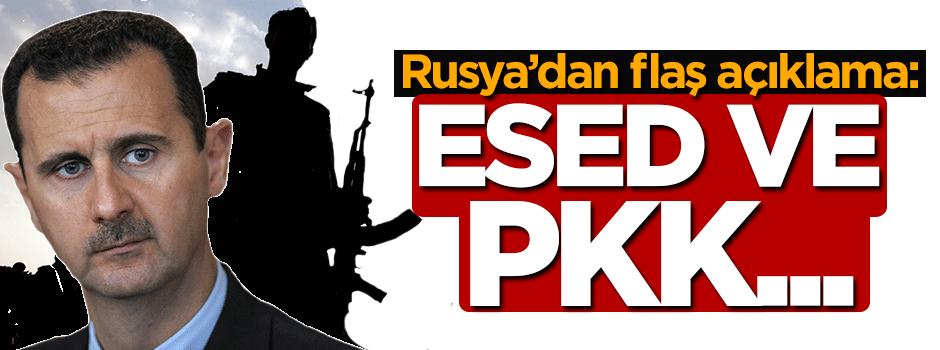 Rusya'dan flaş açıklama: Esed ve PKK...