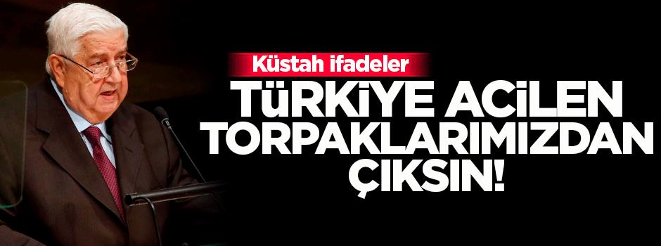 Esed yönetimi: Türkiye acilen topraklarımızdan çıksın