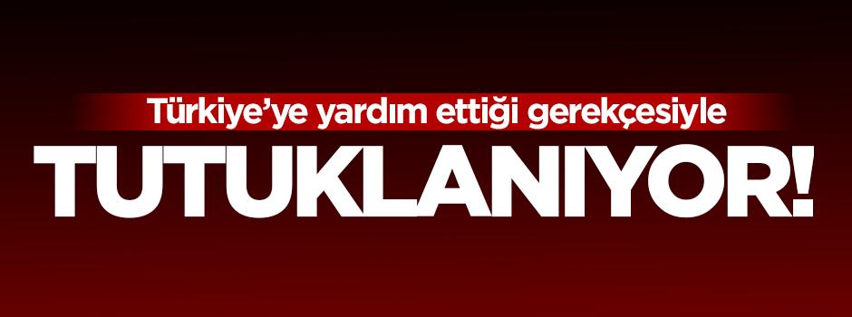 Esil Nuceyfi Türkiye'ye yardım etmekten tutuklanıyor!