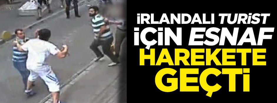 Esnaftan İrlandalı turist için kampanya