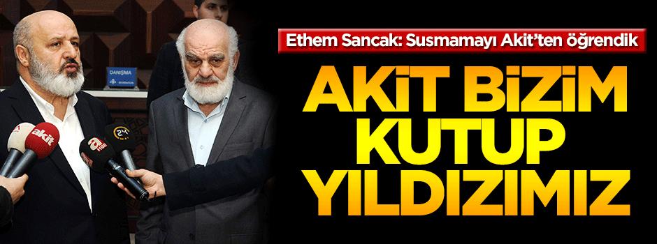 Ethem Sancak'tan Akit Medya'ya 'Geçmiş olsun' ziyareti