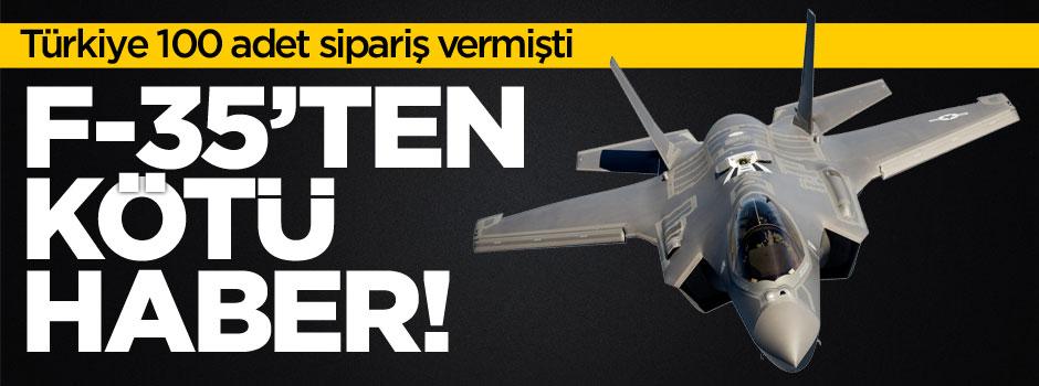 Türkiye'nin sipariş verdiği F-35'lerle ilgili flaş gelişme!