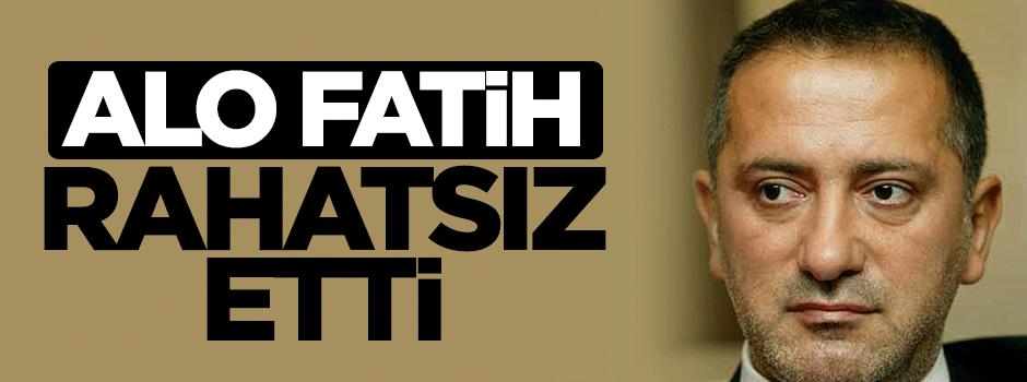 Fatih Altaylı, 'Alo Fatih'ten rahatsız
