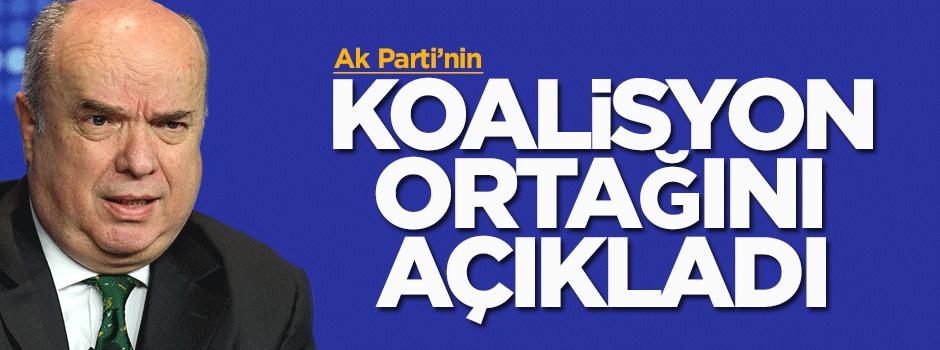 Fehmi Koru, Ak Parti'nin koalisyon ortağını açıkladı