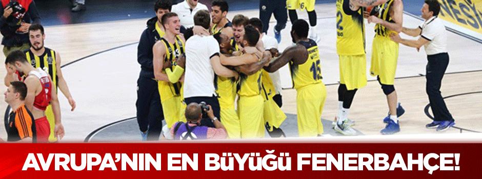 Fenerbahçe destan yazdı!