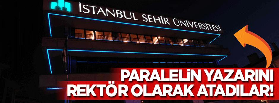 FETÖ medyasından İstanbul Şehir Üniversitesi'ne rektör atandı!