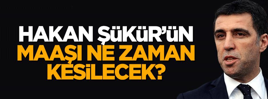 Hakan Şükür'ün milletvekili maaşı ne zaman kesilecek?