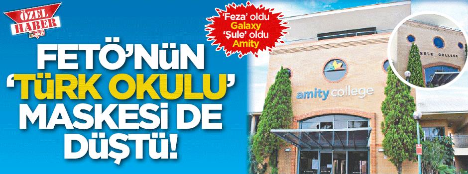 FETÖ'nün 'Türk Okulu'  maskesi de düştü