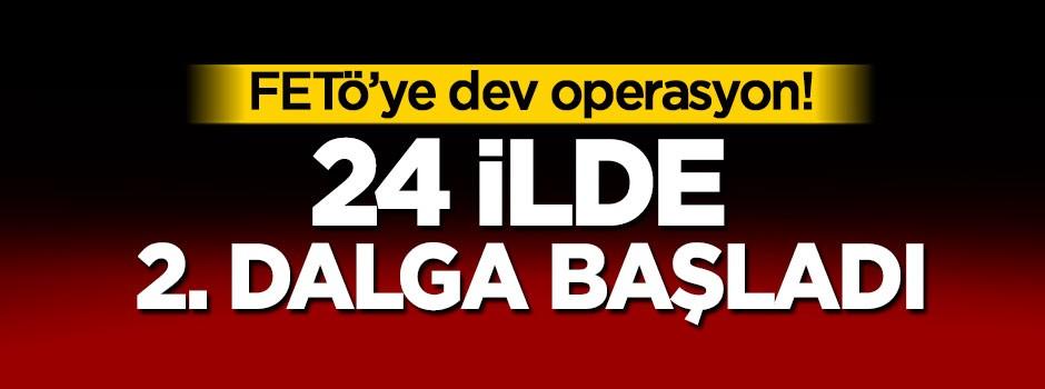 FETÖ'ye Bursa'da dev operasyon, 2. dalga başladı