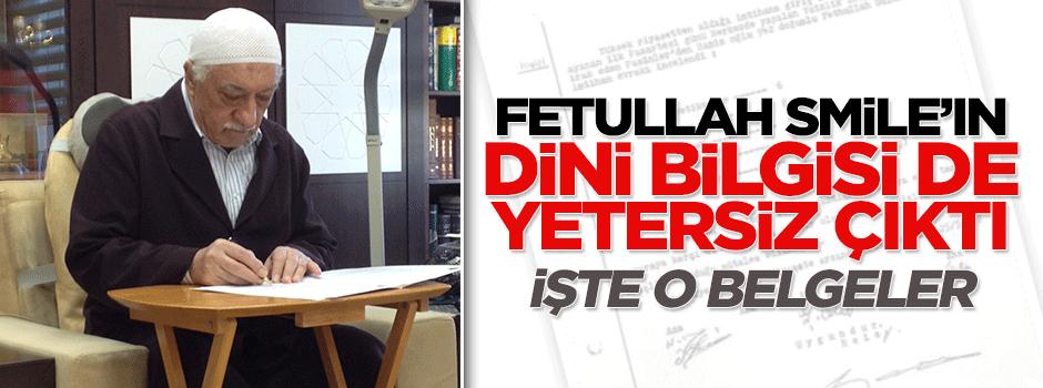 Fetullah Gülen'in din bilgisi de yetersiz çıktı