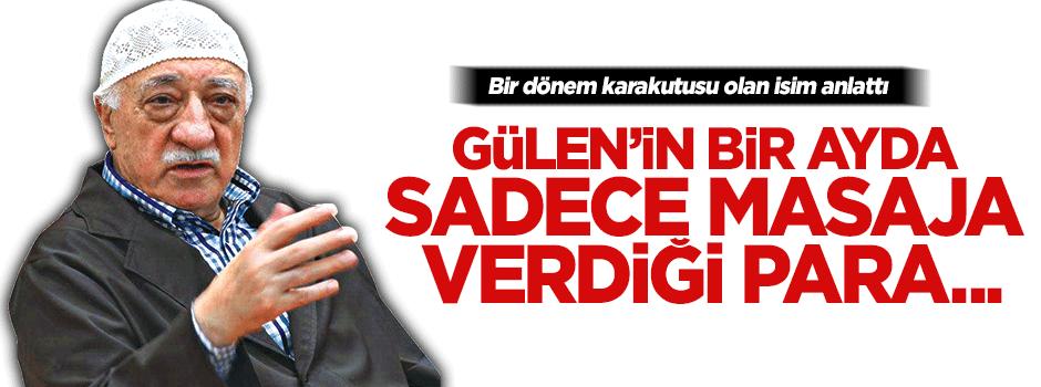 Gülen'in lüks yaşamını anlattı