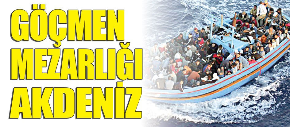Göçmen mezarlığı Akdeniz