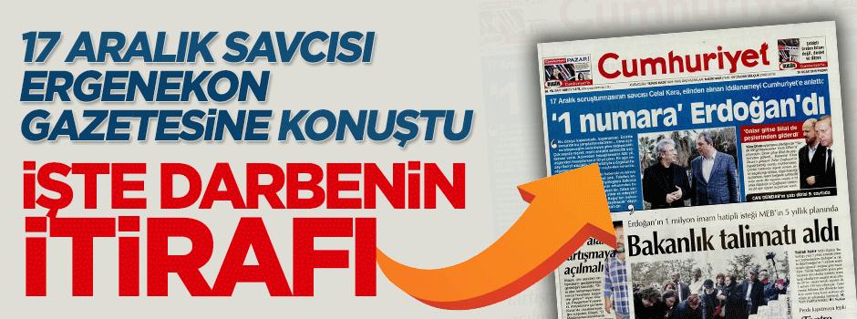 Gülen örgütü 17 Aralık'ın 'darbe girişimi' olduğunu sonunda itiraf etti