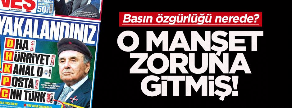 Güneş'in bereli Aydın Doğan manşeti için 12 yıl hapis