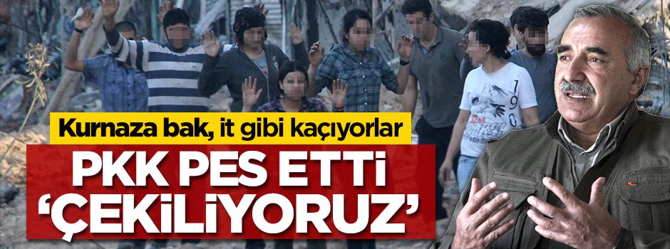 PKK pes etti: Açıklama var