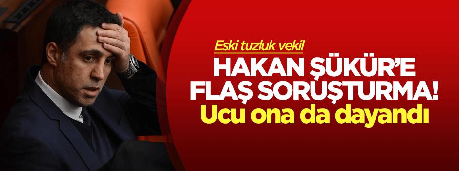 Hakan Şükür'e flaş soruşturma!