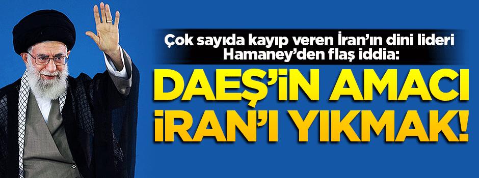 Hamaney: DAEŞ'in amacı İran'ı yıkmak