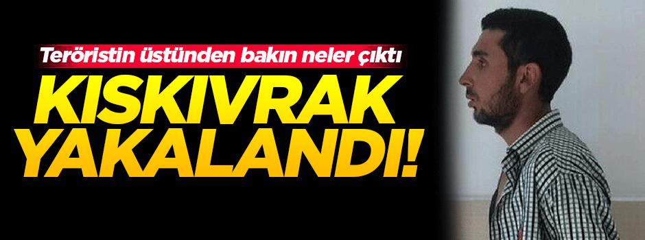 Hatay'da bir PKK'lı terörist yakalandı