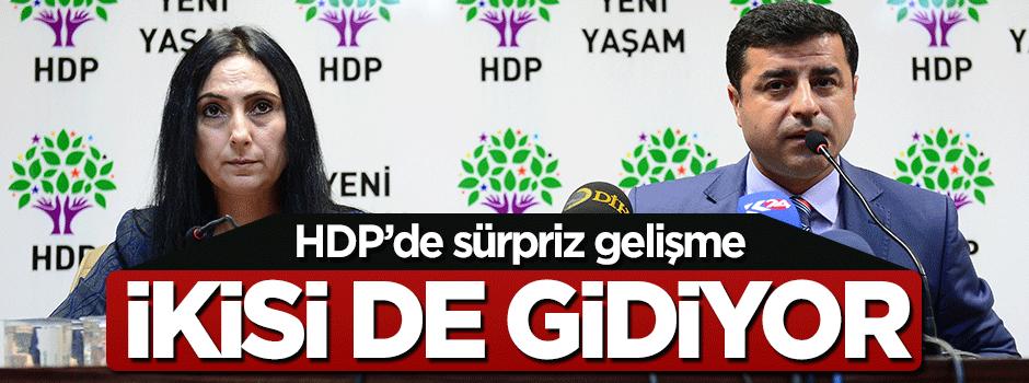 HDP eş başkanları gidiyor