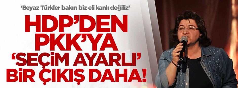 HDP'den PKK'ya 'seçim ayarlı' bir çıkış daha