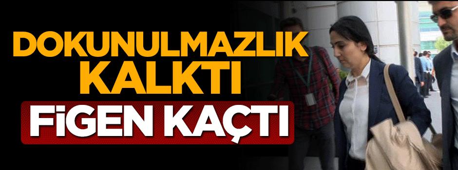 HDP'li Figen Yüksekdağ Almanya'ya mı kaçtı?