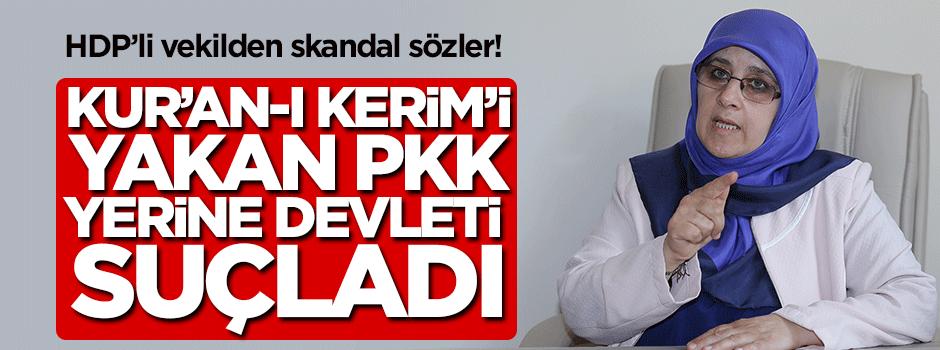 HDP'li vekilden devlete skandal suçlama!