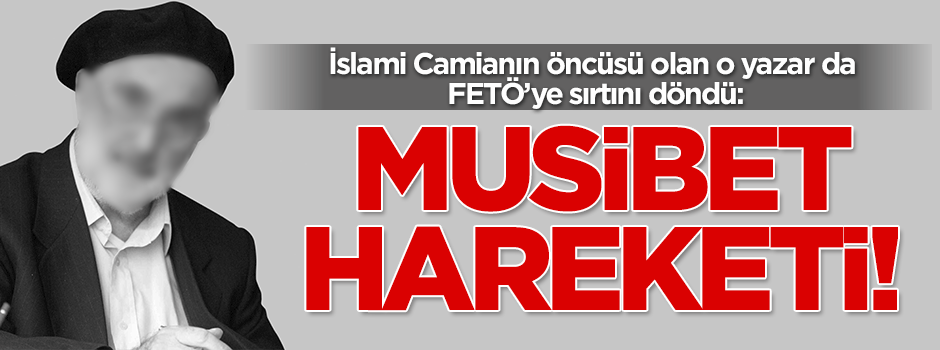 Hekimoğlu İsmail FETÖ'yü tarif etti: MUSİBET MEKTEBİ!