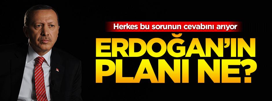 Herkes bu sorunun cevabını arıyor: Erdoğan'ın planı ne?