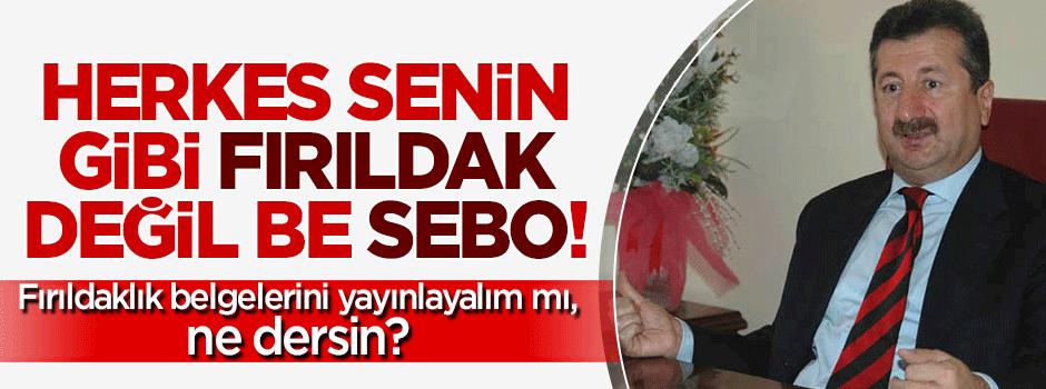 Herkes senin gibi fırıldak değil be Sebo!
