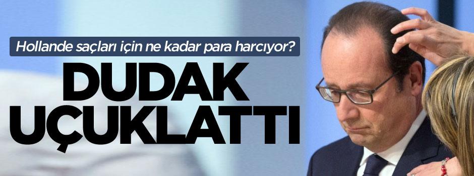 Hollande'ın kuaförüne ödediği maaş ağızları açık bıraktı