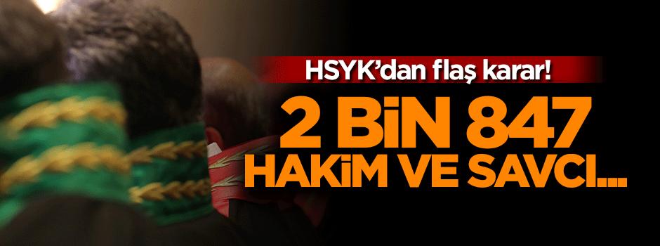 HSYK 2 bin 847 hakim ve savcıyı meslekten ihraç etti