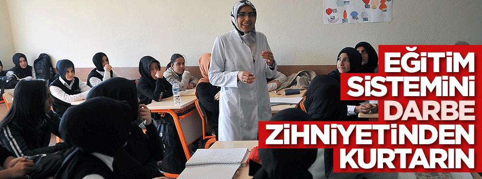 HÜDA PAR: Eğitim sistemi darbe zihniyetinden kurtulmalı
