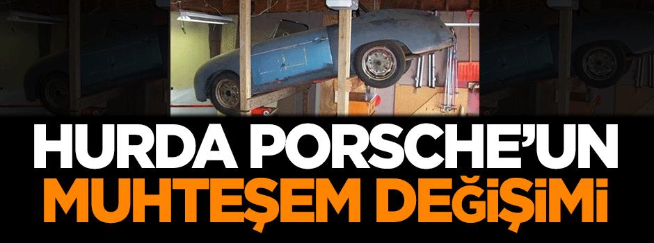 Hurda Porsche'un muhteşem değişimi