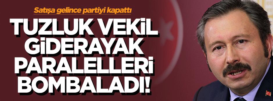 İdris Bal giderayak Paralel Medya'yı bombaladı