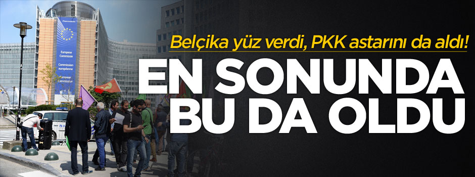 İki yüzlü Avrupa'nın PKK tutumu!