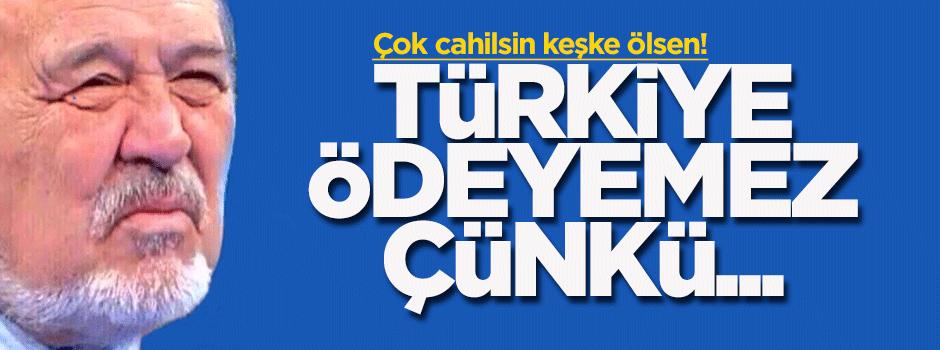 İlber Ortaylı: Yunanistan'ın borcunu Türkiye ödeyemez, çünkü...